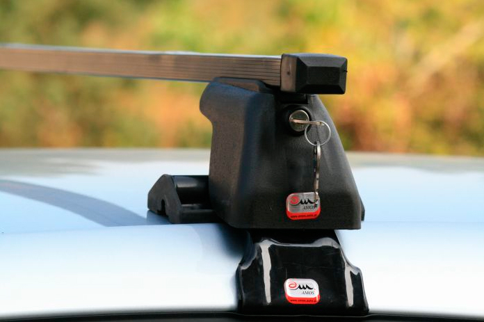 Универсальный съемный багажник на машину